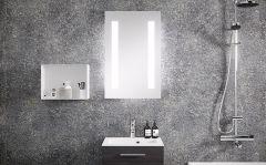 Kylpyhuonepeili Otsoson Sol LED 60x70 valopeili