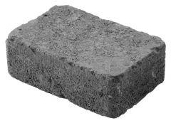 Betonilaatta Pihakivi Antiikkikivi kokonainen 179x119x60mm musta