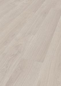 Laminaatti Kronotex Exquisit 2873 Waveless Oak White 8mm KL32, Takuu 20 vuotta