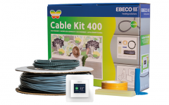 Lattialämmityspaketti Ebeco Cable Kit 400 3,4-7,2m² / 49m 540W