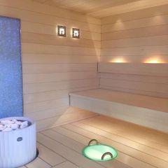 LED-saunavalaisin laajennusosa 2700 K (3-osainen)