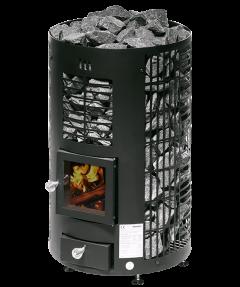 Mondex Klapi Musta puukiuas 8-16m³ saunaan