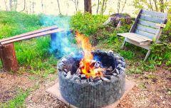 Nuotiopaikka Warma Steel
