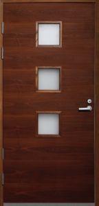 Ulko-ovi Päijänne-ovet Nuotta saarni mittatilausovi