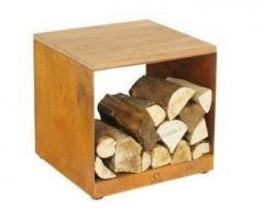 OFYR Wood Storage Hocker