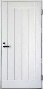 Paloluokiteltu ulko-ovi 1 Keskipuu EI30/30dB