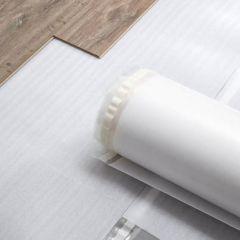 Parketti- ja laminaattilattioiden alusmateriaali Kronotex Basic plus 25m²/rll
