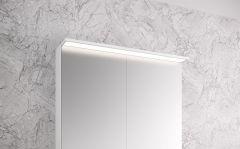 Peilikaappi Otsoson Luvia LED valolippa 800 mm
