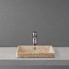Pesuallas Woodio CUBE 40 seinäkiinnitys