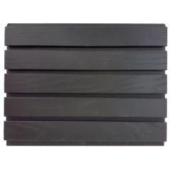 Rimapaneeli Tammi kuultava musta 217x3000x20mm 1,95m2/pkt