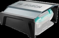 Robottiruohonleikkuri Indego-talli