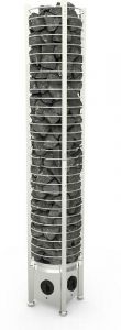 Sähkökiuas Sawo Tower Heater 6kW Round (5-8m³)