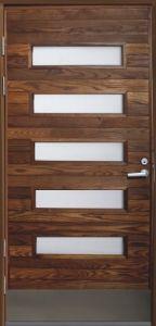 Ulko-ovi Päijänne-ovet Taimen saarni mittatilausovi