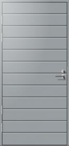 Ulko-ovi Päijänne-ovet Talas (vaaka) mittatilausovi