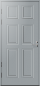 Ulko-ovi Päijänne-ovet Tehi umpi mittatilausovi