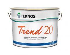 Trend 20 seinämaali 9L Teknos