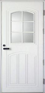 Ulko-ovi Kaskipuu Classic L2 1,0 rakenteilla