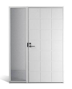 Ulko-ovi Saaristo ovet Ruutu sivuikkunalla mittatilausovi, piilosaranoitu