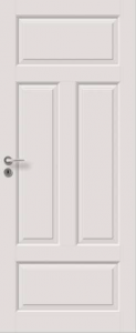 Väliovi, Saaristo Perinne-ovet, massiiivirakenne, 4-P Valkoinen