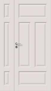 Väliovi levikkeellä, Saaristo Perinne-ovet, massiiivirakenne, 4-P Valkoinen
