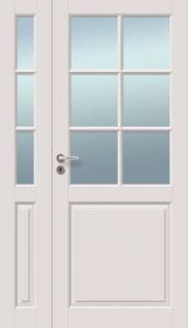 Väliovi levikkeellä, Saaristo Perinne-ovet, massiiivirakenne, 6-R Valkoinen