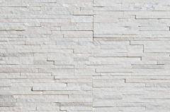 Verhoilukivi Aitokivi White Quartzite Water Wall 15x60