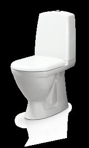 WC-istuin Svedbergs 9085 piiloviemäri, S-lukko, kova kansi