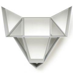 Wolf Shelf BEdesign Harmaa