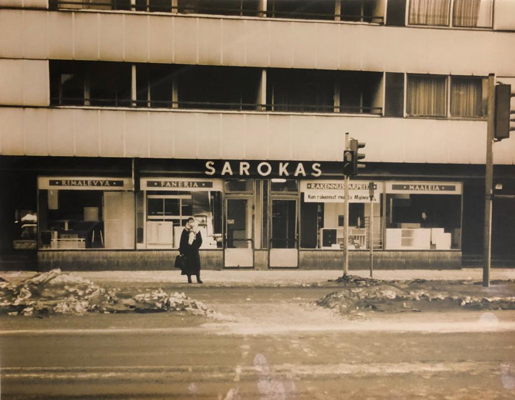 Sarokas vuonna 1961